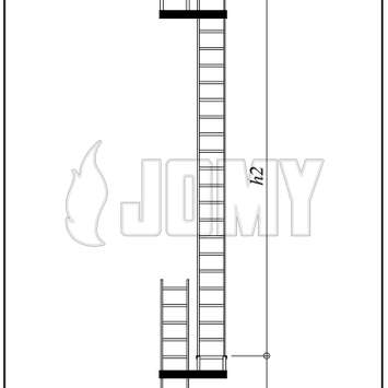 Fixe aluminum ladder with flights_0_226_