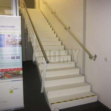 JOMY aluminum fire escape stairs as the preferred solution
