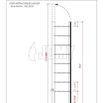 The JOMY Retractable Fire Escape Ladder is ideally_0_28_