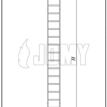 Max height of a fixed ladder_0_223_