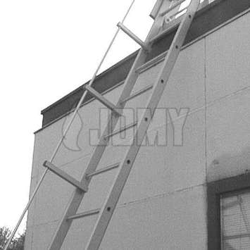 The JOMY - Rooftop Gliding ladder