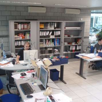 The JOMY engineeringsoffice in Belgium near Liege