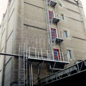 Jomy Egress Ladders As A Substitute Solution For A Safe